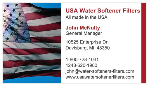 USA Water Softener Filters